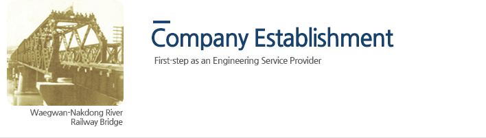 Company Establishment - First-step as an Engineering Service Provider